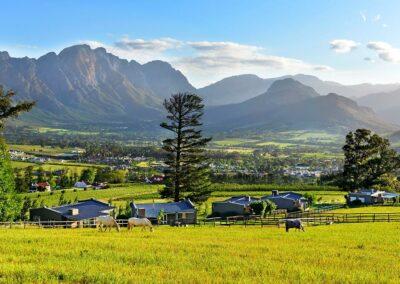 Courchevel Farm View