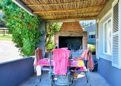 Courchevel Cottage Verandah