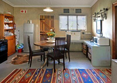 Courchevel Cottage Dining room & Kitchen